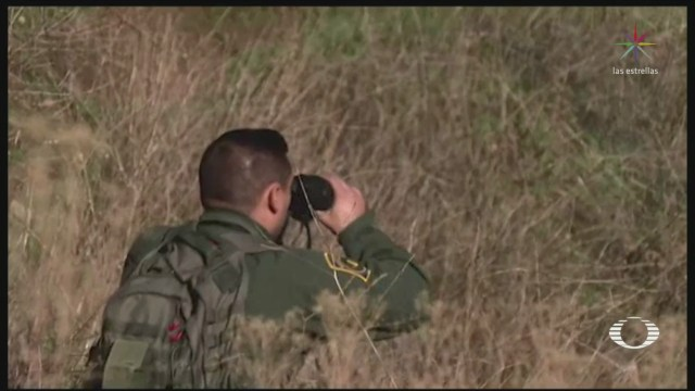 Foto: Sector San Diego-Tijuana Cruce Vigilado Patrulla Fronteriza 19 Diciembre 2019