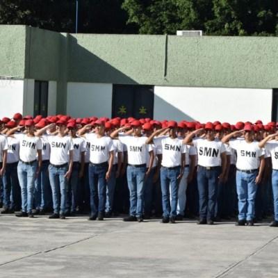 Foto: A las mujeres que asistieron de manera voluntaria la Secretaría de la Defensa Nacional les entregó un reconocimiento