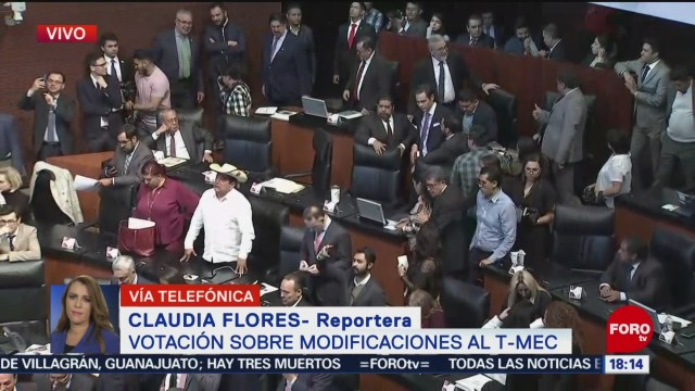 FOTO: Senado Avala Protocolo Modificatorio T-MEC