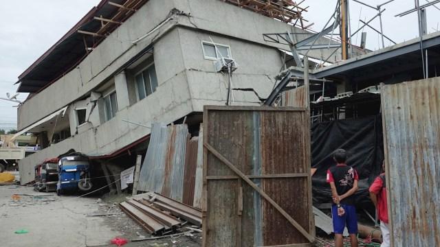 Foto: El terremoto dañó varios inmuebles en la ciudad de Padada, Filipinas, 15 diciembre2019