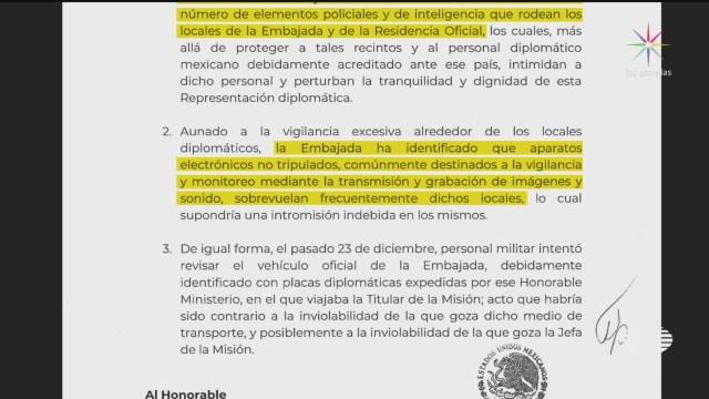 Foto: Sre Denuncia Presencia Policíaca Embajada Mexicana Bolivia 25 Diciembre 2019