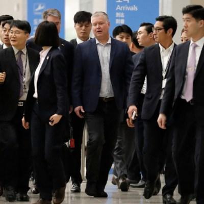 foto: El representante especial de Estados Unidos para Corea del Norte, Stephen Biegun, llega a Seúl, 15 diciembre 2019