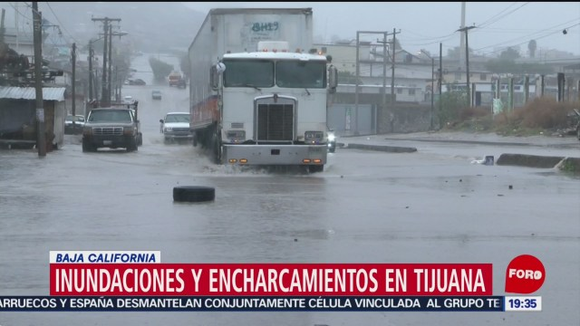 Foto: Tijuana Bajo Agua Fuertes Lluvias 4 Diciembre 2019