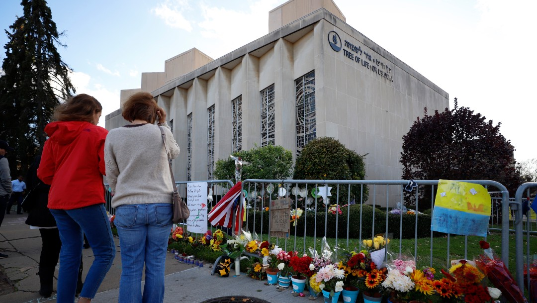Foto: Tiroteo de la sinagoga de Pittsburgh, Estados Unidos