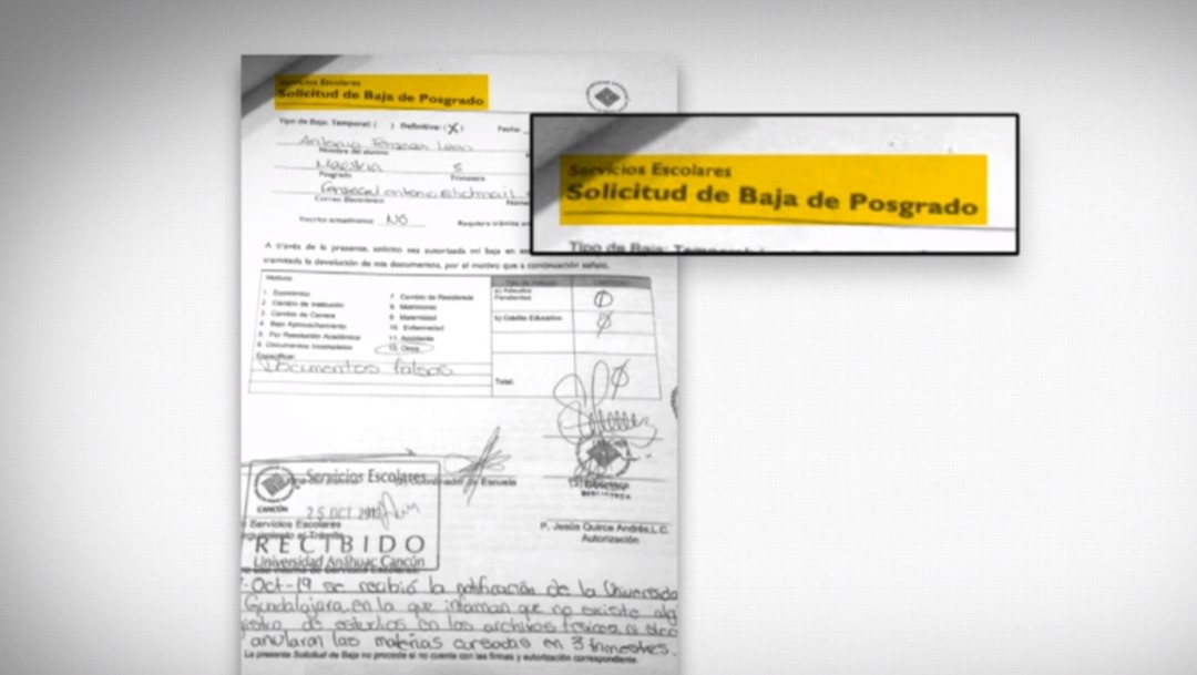 Foto: Titular de Protección Civil de Cancún falsificó documentos
