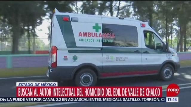 trasladan de hospital a presunto homicida de alcalde de valle de chalco