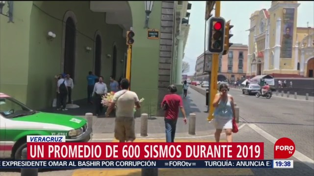 Foto: Veracruz Ha Registrado 600 Sismos Durante 2019 13 Diciembre 2019
