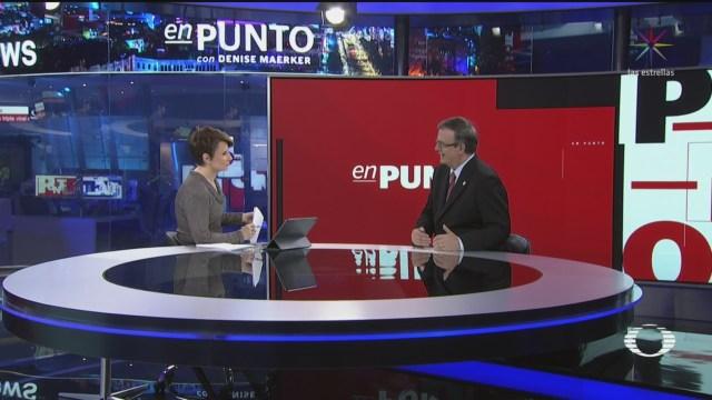 Foto: Video Entrevista Completa Marcelo Ebrard Denise Maerker 5 Diciembre 2019