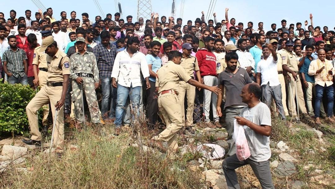 Foto: Policía mata a 4 presuntos violadores en India, 6 diciembre 2019