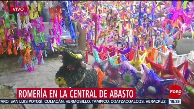 Foto: Romería Navideña Central De Abasto CDMX 6 Diciembre 2019