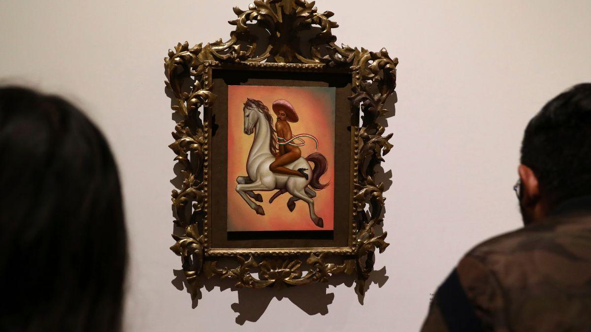 """Foto: """"La Revolución"""" es una pieza de Fabián Chairez. AP"""