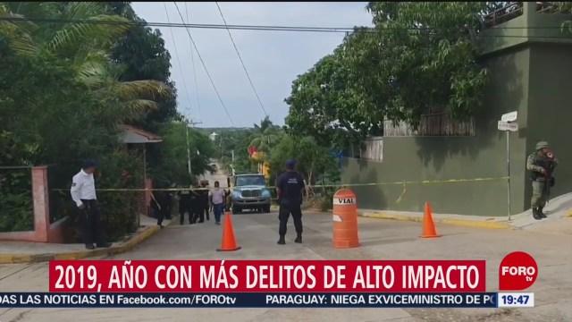 Foto: Año Más Violento México 2019 21 Enero 2020