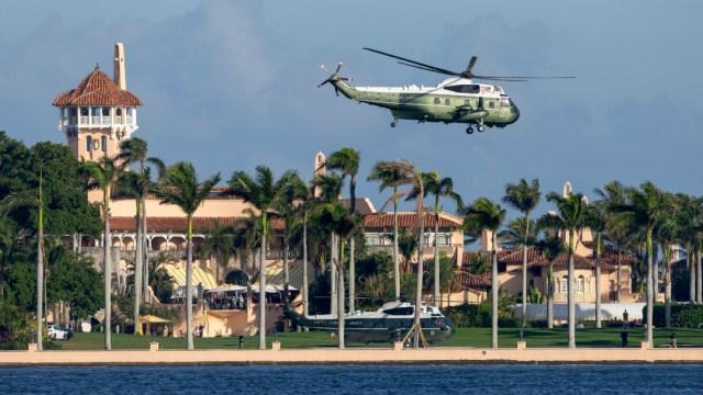 Mar-a-Lago, la residencia del presidente de Estados Unidos, Donald Trump
