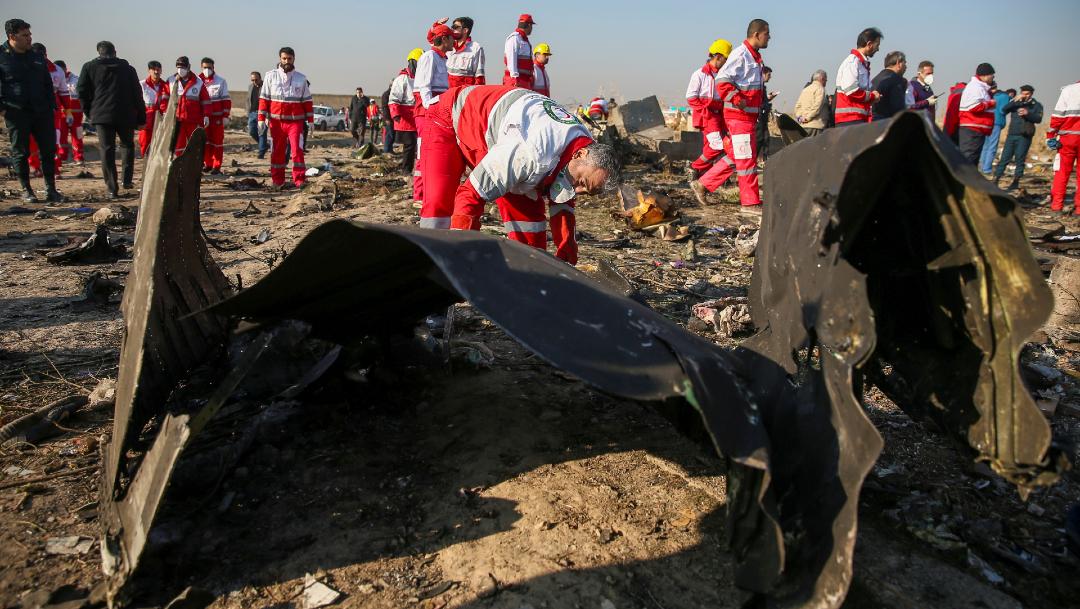 avion ucraniano derribado en iran