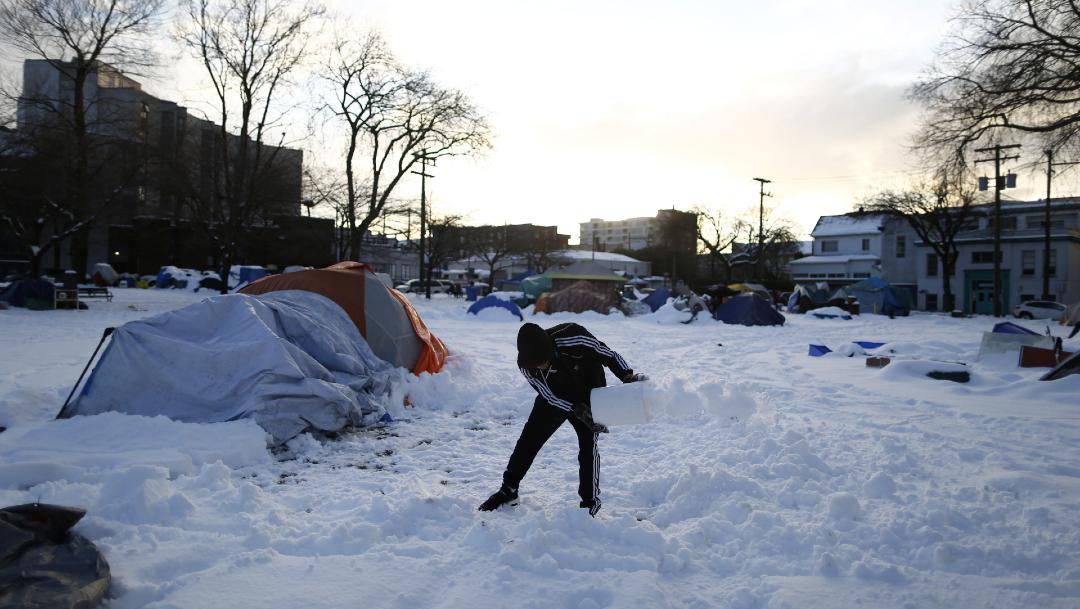 Personas sin hogar han sido los más afectados en Vancouver