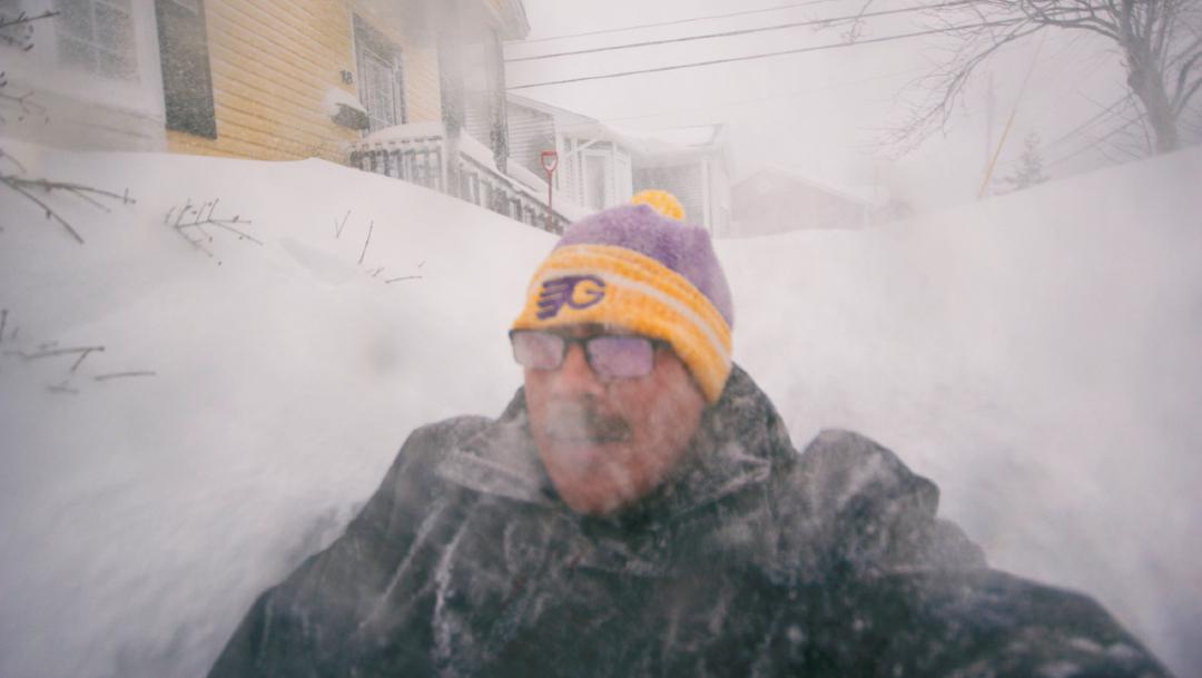 FOTO: Hombre queda atrapado en tormenta de nieve, 17 DE ENERO DE 2020, (Reuters)