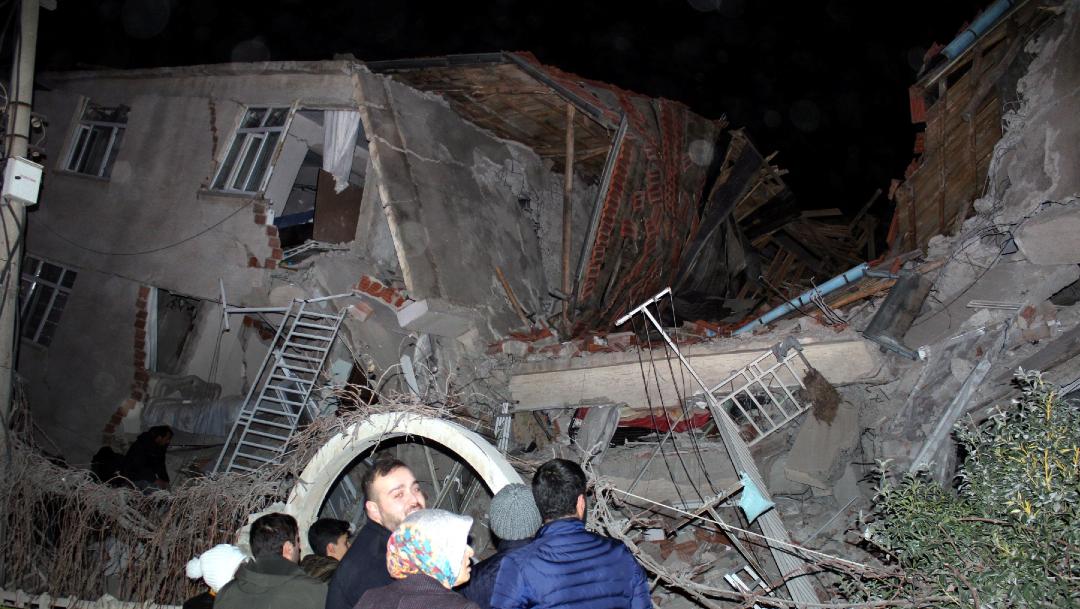 Foto: Turquía eleva a 18 número de muertos por terremoto, 24 de enero de 2020, (Reuters)