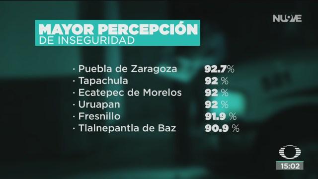FOTO: 7 de cada 10 mexicanos se sienten inseguros