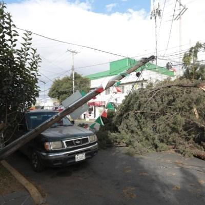 ¿A qué se deben las fuertes ráfagas de viento en diferentes estados de México?