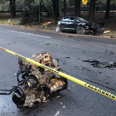 Muere una persona tras choque en la autopista México-Toluca