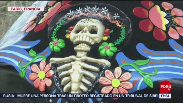 FOTO: alebrijes oaxaquenos y mexicraneos se exponen en paris