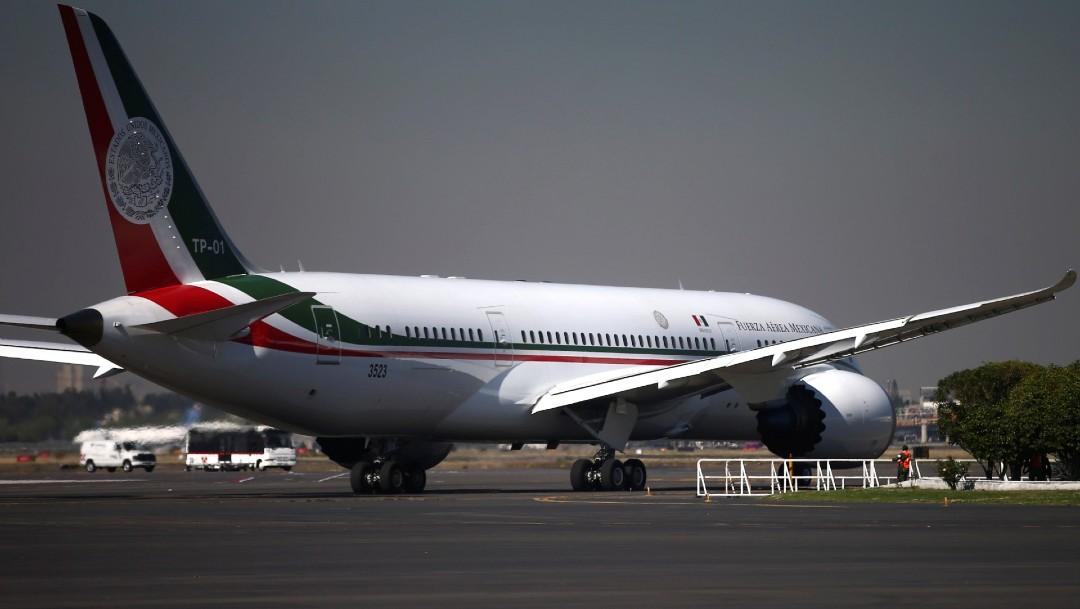 Foto: Avió presidencial de México. (Reuters, archivo)