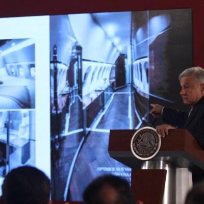 AMLO anuncia subasta de 28 aeronaves de gobiernos anteriores