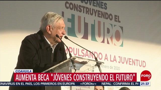 Foto: Jóvenes Construyendo Futuro Beca Amlo Aumentará 24 Enero 2020