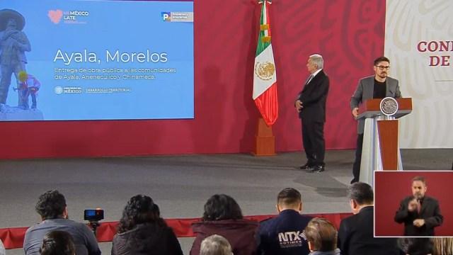 FOTO Gobierno de AMLO presenta avances del Programa de Mejoramiento Urbano (YouTube)