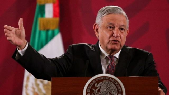 Foto: El presidente Andrés Manuel López Obrador durante su conferencia matutina el viernes 24 de enero de 2020 (Cuartoscuro)