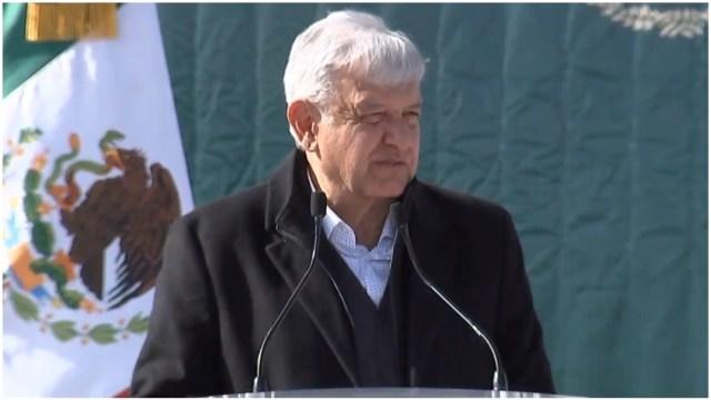 Foto: El presidente Andrés Manuel López Obrador en Sonora, 12 enero 2020 (Presidencia)