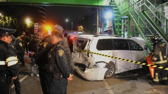 Foto: Arrancones al sur de la CDMX terminan en accidente