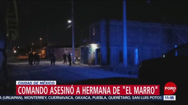 asesinan a hermana de el marro en guanajuato