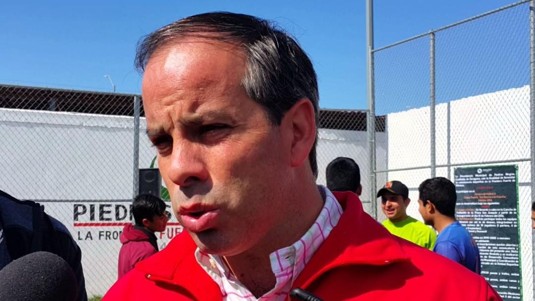Fernando Purón Johnston, candidato a diputado federal asesinado en Choahuia. (Twitter @NNCoahuila)