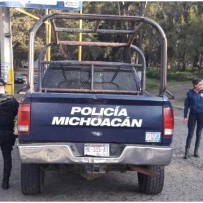 Imagen: Policías abaten a tres presuntos delincuentes en Morelia, Michoacán, 18 de enero de 2020 (SSP Michoacán)