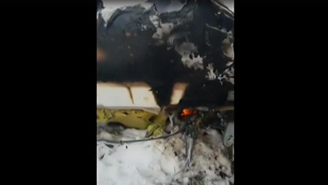Foto: Se registra accidente aéreo en Afganistán.