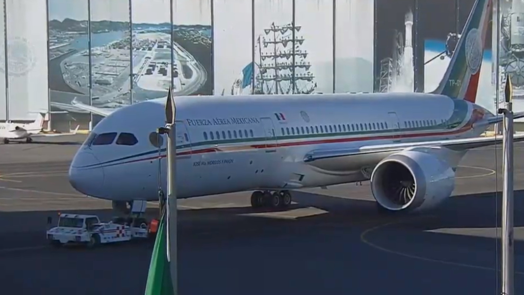 FOTO Avión presidencial TP-01 no se ha vendido, regresa a México y podría ser rentado (YouTube)