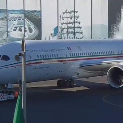 Avión presidencial TP-01 no se ha vendido, regresa a México y podría ser rentado