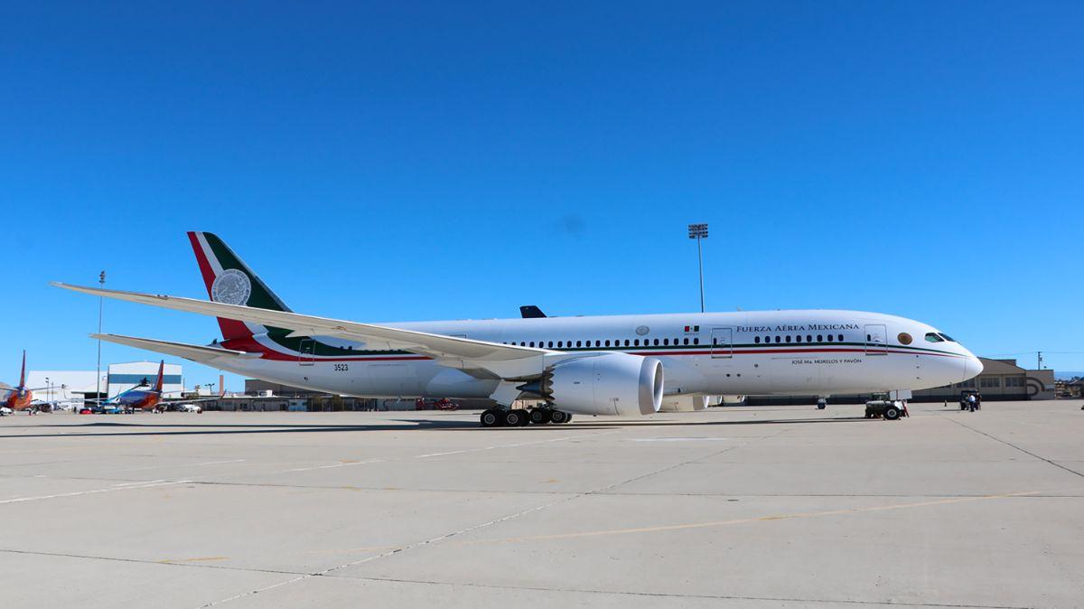 Dinero por avión presidencial será para hospitales: AMLO