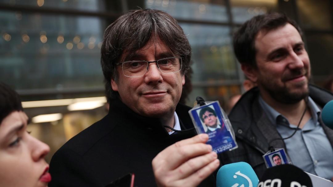 Foto: Bélgica suspende orden de detención contra Carles Puigdemont