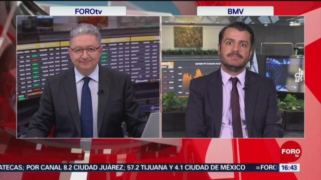 FOTO: bolsa mexicana cierra negativa tras sesion de altibajos