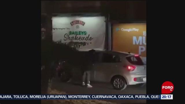 Foto: Video Robo Automovilistas Periférico Sur Hoy 23 Enero 2020