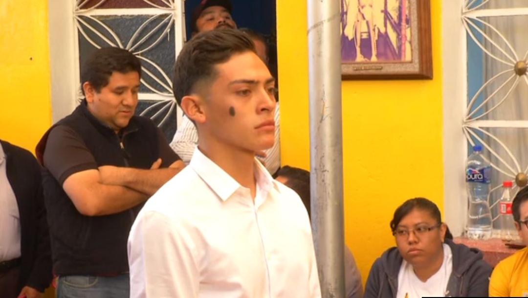 Foto: Joven de 19 años interpretará al Jesucristo de Iztapalapa, 12 de enero de 2020 (Noticieros Televisa)