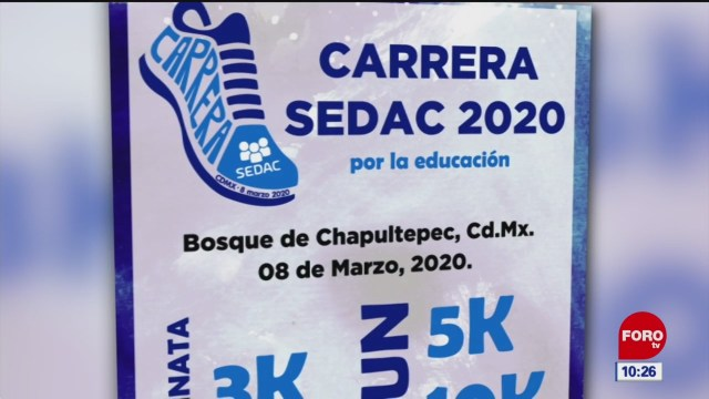 carrera a beneficio de sedac