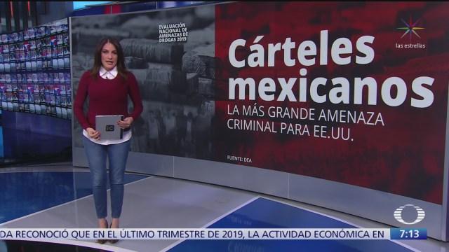 carteles mexicanos mayor amenaza criminal del narco para estados unidos