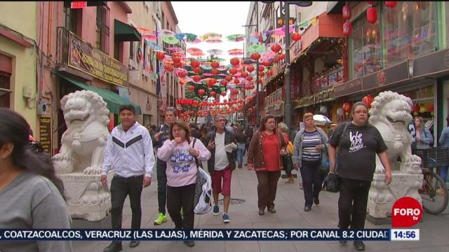 FOTO: celebran ano nuevo chino en la calle de dolores en cdmx