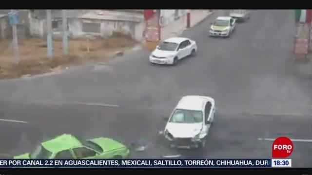 FOTO: choque vehicular en zinacantepec edomex