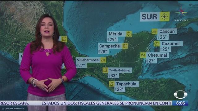 Frente frío 33 provocaré bajas temperaturas en el norte de México