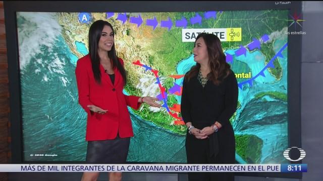 clima al aire bajas temperaturas en la republica mexicana