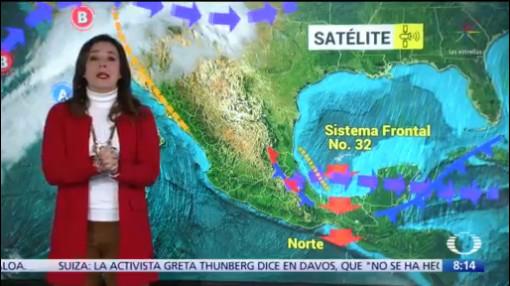 clima al aire frente frio 32 ocasiona lluvias en el sureste de mexico